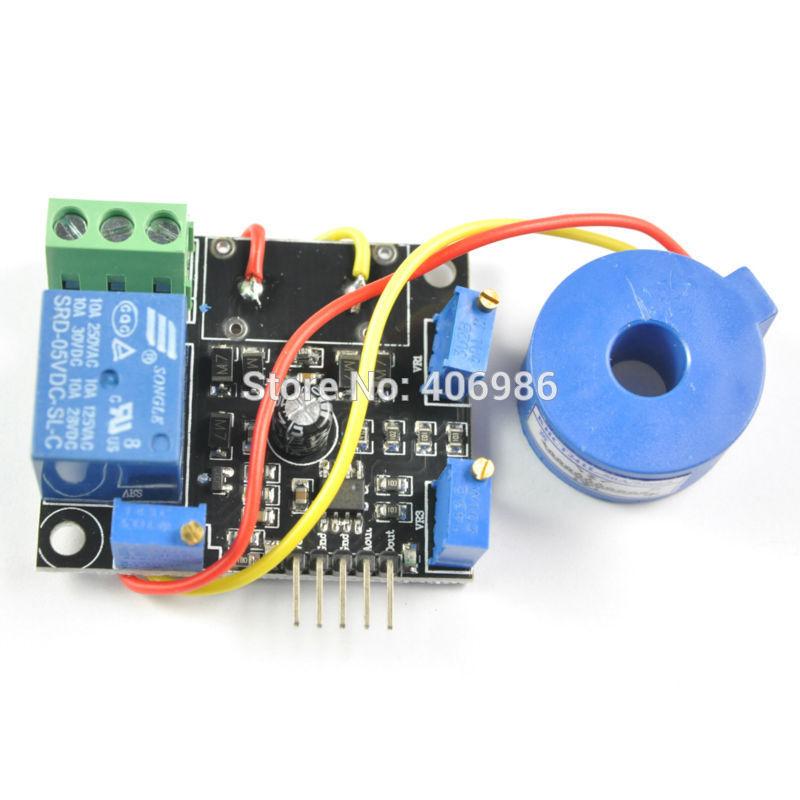 Current Detection Sensor Module 50A AC Short-Circuit Protection DC5V FZ0962(China (Mainland))
