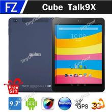 In Stock Original Cube Talk 9X U65GT 9.7″ Retina IPS Android 4.4 MTK8392 Octa Core 16GB 32GB 3G Tablets PCs Phone Phablet GPS