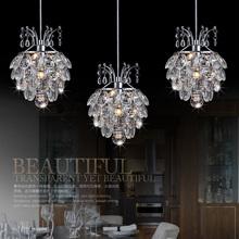 2015 new arrival Kitchen crystal pendant lamp dining room luxury crystal pendant light modern Restaurant Bar crystal lights(China (Mainland))