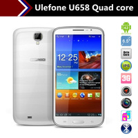 "Ulefone U692 U658 6.5"" 1280x720 HD Screen Android Smart Phone with MTK6592 Octa Core CPU 2GB RAM 16GB ROM 8MP Camera"