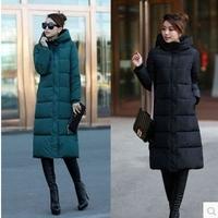 New 2014 jacket winter coat thicken Slim female hoody down jacket and long coat women parka winter coat plus size L-3XL C1864