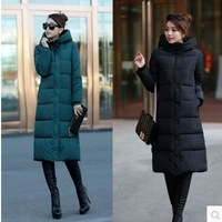 New 2014 jacket winter coat thicken Slim female hoody down jacket and long coat women parka winter coat plus size L-3XL C1864