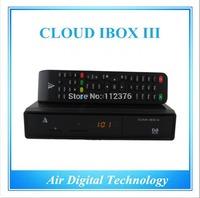 5pcs Original cloud ibox 3 new version twin tuner DVB-S2+Hybrid DVB-T2 751MHz enigma2 smart  linux IPTV box