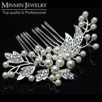 New Arrival Original Design Pearl Bridal Hair Combs Hairpin Hair Accessories Wedding Hair Jewelry Wedding Accessories