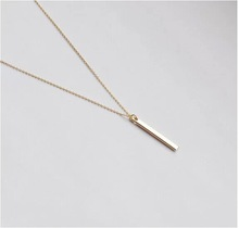 Cupid New Arrival Fashion Bar Temperament Clavicle Necklace Geometric Circle Necklace Women s Accessories Free Shipping