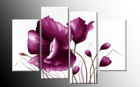 Handpainted New Modern Decorative Oil Painting On Canvas Wall Art Flower Picture for Living Room Unique Gift Free Shipping Hd167