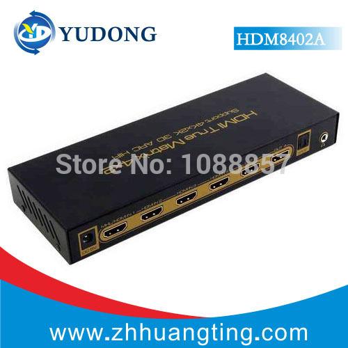 4x2 HDMI Matrix HIFI ,support 4K*2K 3D,1.4V,HDMI True Matrix 4x2,4 inputs,2 outputs,HDMI Matrix Switch 4*2,HDMI Matrix 4*2(China (Mainland))