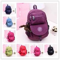 2014 new lovely kippling backpack children school bag mochila kippl classics backpacks bag free shipping