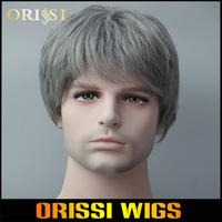 2014 New Arrival Kanekalon Synthetic Men's Wigs Short Hair Wigs for Men and Boy Cosplay Wigs