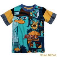 atacado roupas inantil    yy  kids wear printed AENT P yarn dyed stripes hot sale boys short sleeve T-shirts leggings