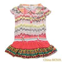 printed beautiul lower hot summer baby girl cotton dress roupas de bebe atacado roupas infantil