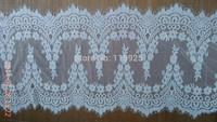 Alencon Lace Trim Lace Shawl Fabric, Wedding Bridal Lace Fabric, Wedding Dresses DIY SALE,3 meters per pc