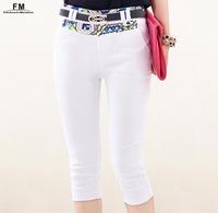 Black White Print Patchwork Skinny Women Pants & Capris Female Feminine Trousers Pencil Pants Plus Size Big Size XXXL SS14P001