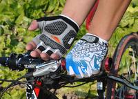 2014 Fashion Cycling Bike Bicycle Hexagon 3D GEL Washable Outdoor Sports Half Finger Glove For Men & Women Free Shipping