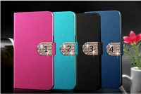 CSCASES Leather Case For Xiaomi mi3 Chines mobile,Flip Leather Phone Cases For xiaomi m3 With card holder stand Free Shipping