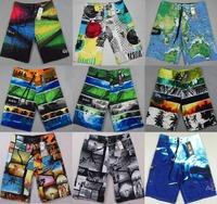 2014 Fashion Brand Shorts Swimwears Beach Pants Male Straight Swim Surfing Shorts Pants Men's Bermudas Boardshorts 30-38 XXXL