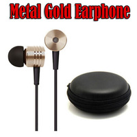 New Arrival 3.5mm X-Race Gold Earphone For MP3 Phone With 3 Earbuds In Storage Case