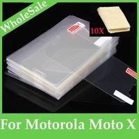 3pcs/lot  High Quality Clear Screen protetor Guard For Motorola Moto X XT1052 XT1053 XT1055 XT1056 XT1058  FM-MO-MOTOX
