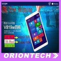 8 Inch Onda V819w windows os V819i(Android os) Tablet Pc  Onda winpad with 1280*800 IPS Screen 1GB 16GB Memory Intel Quad core
