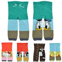 2014 New Autumn Winter Knitted chidren pants Busha brand calca infantil leggings High waist  bebe pp pants cotton baby trousers