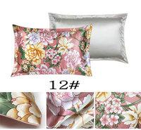 114073010 more design choice silk single  side  printed Silk Pillowcase size 74cm*48cm+3cm good quality  pillow cover