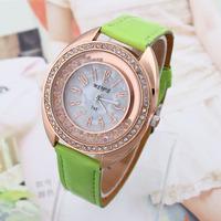 2014 Watches New Fashion Casual Analog Quartz Watch Brand Smart Big Round Wristwatch Clock Female Reloj Mujer women Dress watch