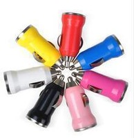 Universal500pcs/lot HOT  Sale Micro USB Car Charger Colours for mobile phone/MP3/MP4 High Quality