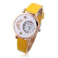 Women Rhinestone Watches Brand New 2014 Fashion Watch Dress women Smart Vintage Wristwatches Quartz Clock Montre Femme Dropship