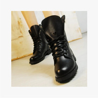 Fashion Women Vintage Martin Boots Motorcycle Boots Unisex Boots Black 2014 Hot Sale Wholesale Autumn Winter Female Ankle Boots