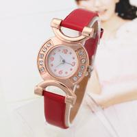 Fashion Watches New 2014 Ladies Quartz Watch Retro Analog Thin Band Wristwatches Vintage women Dress watch Rhinestone Montre Hot