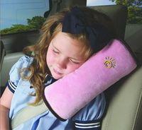 Car soft Safety Belt Shoulder Pad Vehicle sleep Seat Belt protective cover for Kids Children boys girls ,4 colors,30*9*12cm