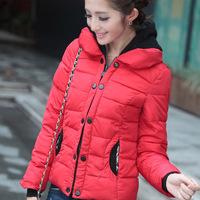 NEW  2014 Lady Fashion Parkas Women clothing winter coat Free shipping 901