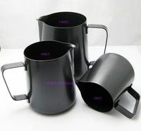 350ML Teflon Non stick pitcher Coffee tea shop equipment fancy Coffee garland milk cup