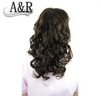 A&R Products free shipping good quality top loose wave brazilian human lace front wigs