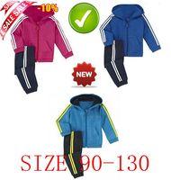 2014 new arrive size 90-130 brand boys and girls autumn cloth set top+pants children boys sport set children clothing set lasogo