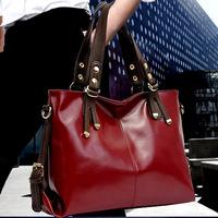 New 2014 Fashion Brand Women Handbag Burnished Leather Shoulder Bags Women  Messenger Bags Bolsas femininas brand bag on sale