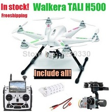 Free Drop shipping Walkera TALI H500 Drone Hexacopter DEVO F12E G-3D Gimbal ILOOK+ HD camera FPV GPS Rc helicopter Full set(China (Mainland))
