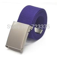 2014 South Korea new brand Lady Candy colors canvas belt,Men Lady fashion leisure joker belt,Men's wide belts,male Military belt