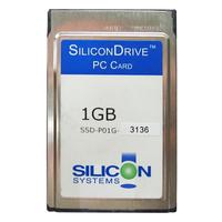SiliconDrive Silicon Systems 1GB PCMCIA PC Card ATA Flash Memory Card