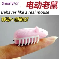 Electric light emitting mouse cat toy cat toy