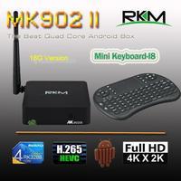 New Arrival! RKM MK902II Quad Core XBMC Android 4.4 RK3288 2G DDR3 16G ROM Bluetooth Dual Band Wifi Gbit ethernetMK902II/16G+I8]