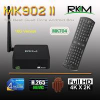 New Arrival! RKM MK902II Quad Core Android 4.4 RK3288 2G DDR3 16G ROM Bluetooth Dual Band Wifi Git ethernet[MK902II/16G+MK704]
