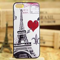 Romantic paris Effiel Tower Series Phone Case for iphone 5 5S