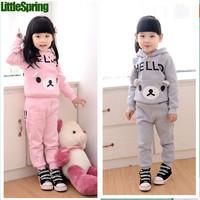 TS LittleSpringRetail ! Free shipping children's clothing sets summer arrival boys cartoon kids suit children clothing