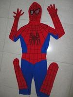 HALLOWEEN Cosplay marvel amazing Spiderman 2 Costume Spandex high Elasticity Spiderman Costume for halloween party show