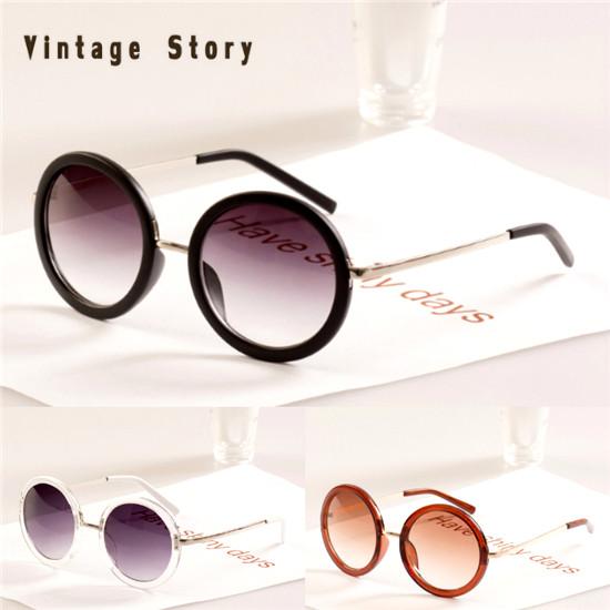 Free shipping 2014 New Sunglasses Retro Gafas oculos de sol Four colors Sun Glasses Women Men Fashion Coating Sunglass Q4(China (Mainland))