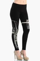2014 Summer Women Gun Print Yoga/Sport Pants,Sweatpants/Capris,Women Work Out Sportswear,High waist Trouser,Gym/Running,Leggings