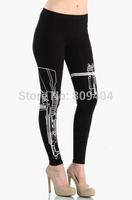2014 Summer Women Gun Print Yoga/Sport Pants,Sweatpants/Capris,Women Work Out Sportswear,High waist Trouser,Gym/Running,Leggings