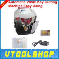 2014 Newest ! Automatic V8/X6 Key Cutting Machine Free Shipping by DHL Latest Automatic Key Cutting Machine Model Number HKA-01