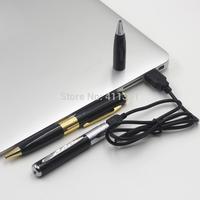 2014 Mini pen Camcorders+video/photo/sound motion Record Black Pen Camcorder Camera Mini Hidden Pen with TF Micro SD Card port